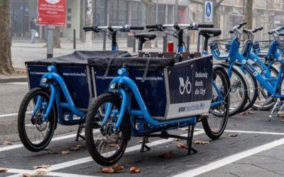 Nextbike startet eCargobike Sharing in Mannheim