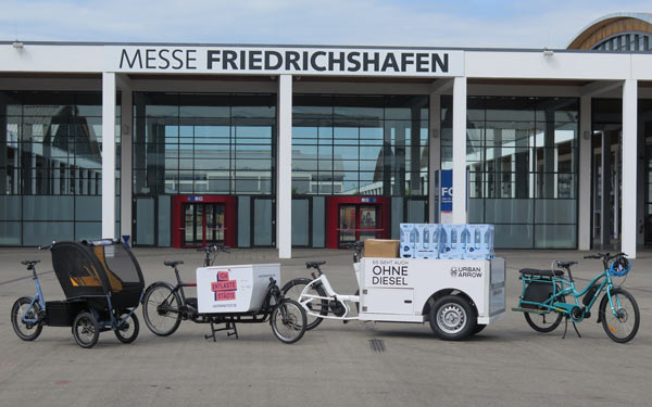 Cargobikes Eurobike