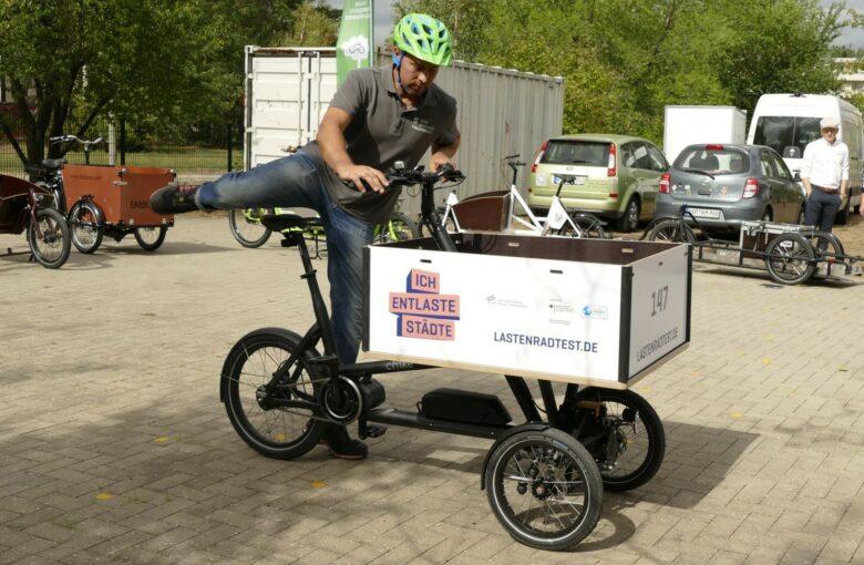 Foto Brandenburg gewerbliche Lastenrad Förderung