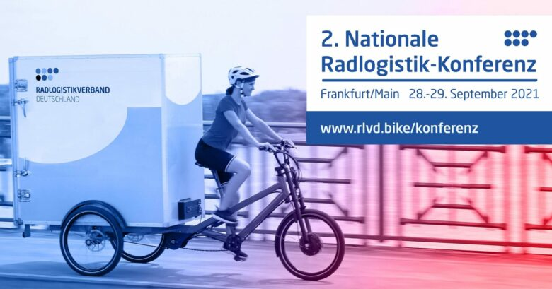 Baner 2. Nationalke Radlogistik-Konferenz, 2021 in Frankfurt/M