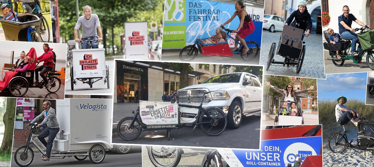bild lastenräder e-bikes