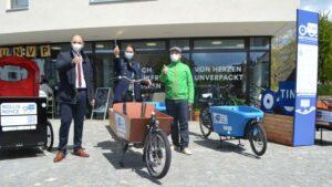 Cargobike Sharing-Testangebot geht auf Wanderschaft