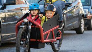 Neue Broschüre: Sichere Kinderbeförderung auf dem Lastenrad