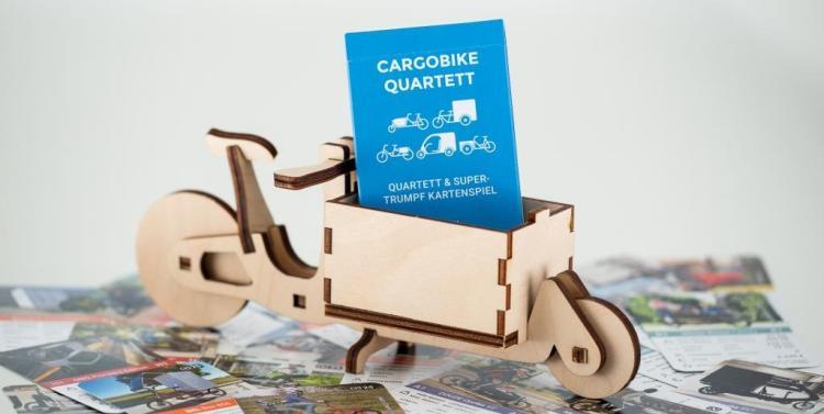 Cargobike Quartett und Cargoli