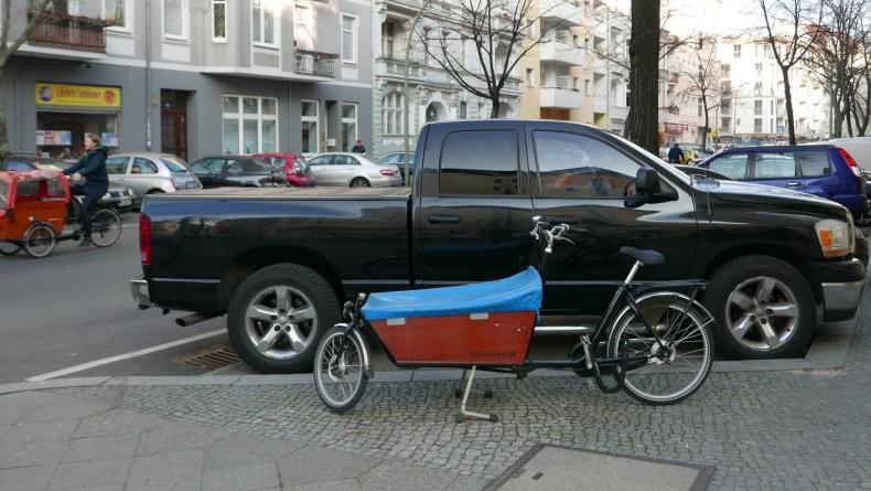 Lastenrad statt SUV
