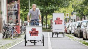 Größter Lastenrad-Test Europas: DLR empfiehlt Aufklärungskampagnen
